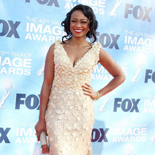 Tatyana Ali in 42nd NAACP Image Awards - Arrivals