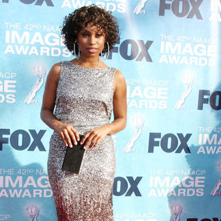 Angell Conwell in 42nd NAACP Image Awards - Arrivals