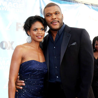 Kimberly Elise, Tyler Perry in 42nd NAACP Image Awards - Arrivals