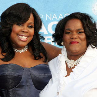 Amber Riley in 42nd NAACP Image Awards - Arrivals