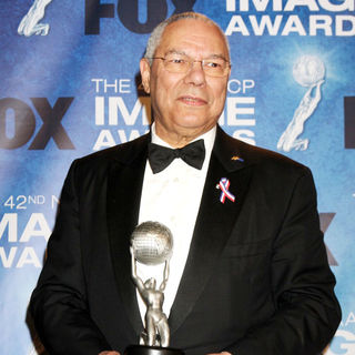 Colin Powell in 42nd NAACP Image Awards - Press Room