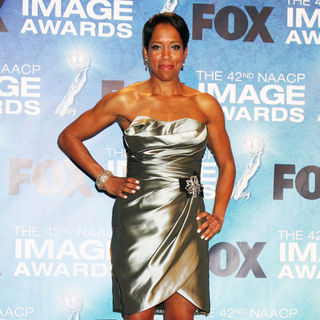 Regina King in 42nd NAACP Image Awards - Press Room