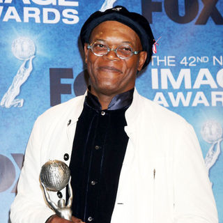 Samuel L. Jackson in 42nd NAACP Image Awards - Press Room