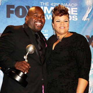 David Mann, Tamela Mann in 42nd NAACP Image Awards - Press Room