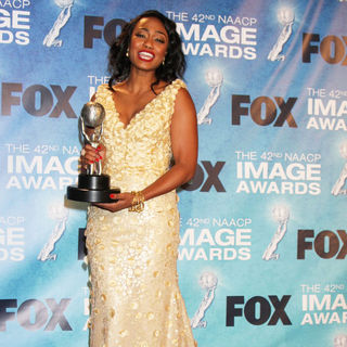 Tatyana Ali in 42nd NAACP Image Awards - Press Room