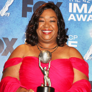 Shonda Rhimes in 42nd NAACP Image Awards - Press Room