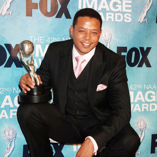 Terrence Howard in 42nd NAACP Image Awards - Press Room