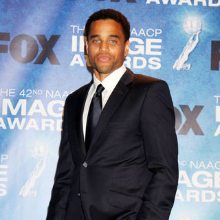 Michael Ealy in 42nd NAACP Image Awards - Press Room