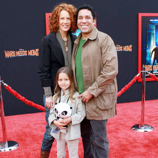 Carla Nunez, Oscar Nunez in The Los Angeles Premiere of 'Mars Needs Moms!'