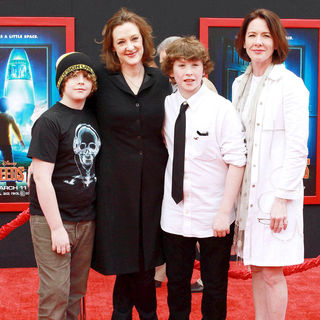 Joan Cusack, Ann Cusack in The Los Angeles Premiere of 'Mars Needs Moms!'