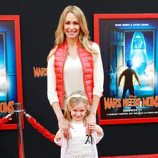 Taylor Armstrong, Kennedy Armstrong in The Los Angeles Premiere of 'Mars Needs Moms!'