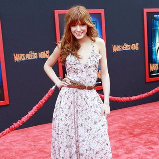 Bella Thorne in The Los Angeles Premiere of 'Mars Needs Moms!'