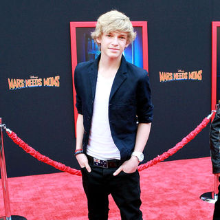 Cody Simpson in The Los Angeles Premiere of 'Mars Needs Moms!'