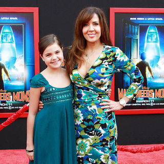 Bailee Madison, Maria Canals Barrera in The Los Angeles Premiere of 'Mars Needs Moms!'