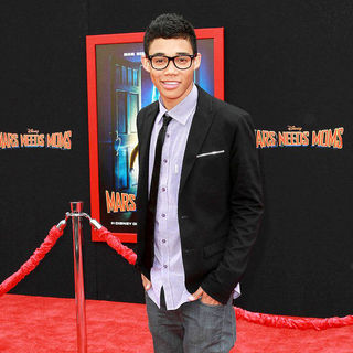 Roshon Fegan in The Los Angeles Premiere of 'Mars Needs Moms!'