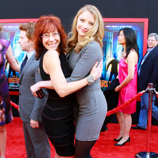 Mindy Sterling, Elisabeth Harnois in The Los Angeles Premiere of 'Mars Needs Moms!'