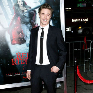 "Max Irons in Los Angeles Premiere of Warner Bros. Pictures ""Red Riding Hood"""