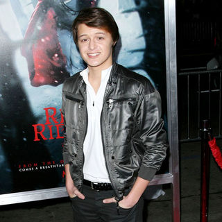 "Nolan Sotillo in Los Angeles Premiere of Warner Bros. Pictures ""Red Riding Hood"""
