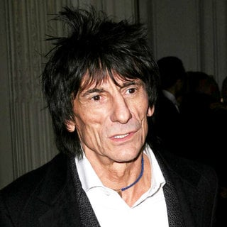 Ronnie Wood in Paris Fashion Week Ready to Wear Fall/Winter 2011 - Yves Saint Laurent - Front Row