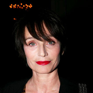 Kristin Scott Thomas in Paris Fashion Week Ready to Wear Fall/Winter 2011 - Yves Saint Laurent - Front Row