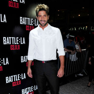 David Chocarro in Red Carpet Screening of 'Battle: Los Angeles'