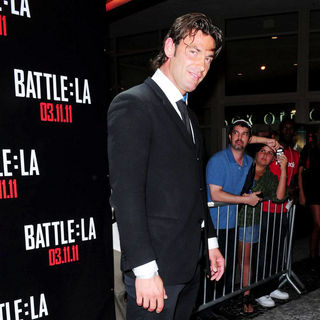 Melvin Cabrera in Red Carpet Screening of 'Battle: Los Angeles'