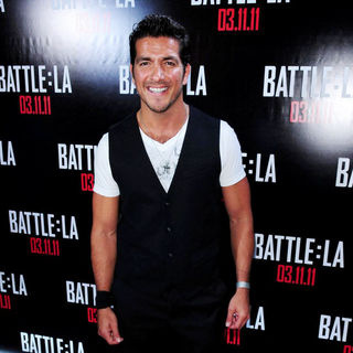 Paulo Cesar Quevedo in Red Carpet Screening of 'Battle: Los Angeles'