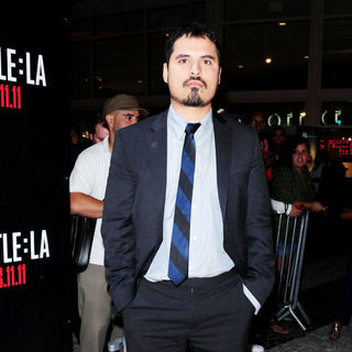Michael Pena in Red Carpet Screening of 'Battle: Los Angeles'