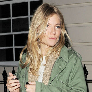 Sienna Miller in Sienna Miller Leaving The Theatre Royal Haymarket Where She Is Performing in Terence Rattigan's