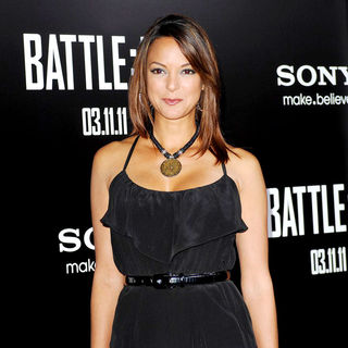 "Eva La Rue in ""Battle: Los Angeles"" Los Angeles Premiere"