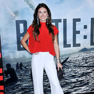"Vail Bloom in ""Battle: Los Angeles"" Los Angeles Premiere"