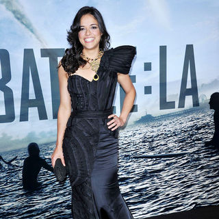 "Michelle Rodriguez in ""Battle: Los Angeles"" Los Angeles Premiere"