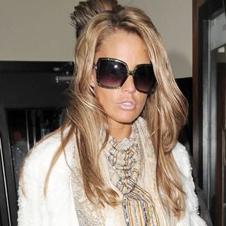 Katie Price in Katie Price Leaving Gem Bar in Soho