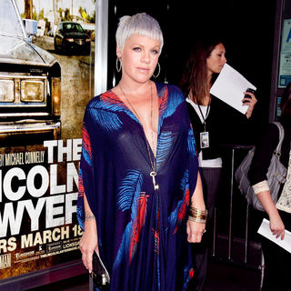 Pink in Screening of Lionsgate & Lakeshore Entertainment's 'The Lincoln Lawyer'