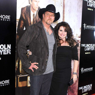 Trace Adkins, Rhonda Forlaw in Screening of Lionsgate & Lakeshore Entertainment's 'The Lincoln Lawyer'