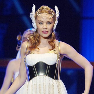 Kylie Minogue Performs Live in Barcelona as Part of Her 'Les Folies' Tour