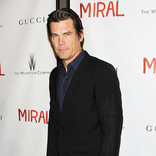 Josh Brolin in New York Screening of The Movie 'Miral'