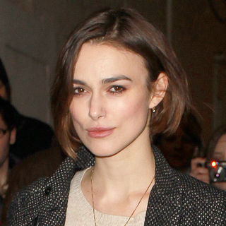 Keira Knightley - Keira Knightley Leaves The Comedy Theatre After Her Performance in 'The Children's Hour'