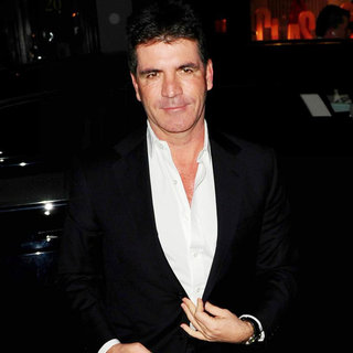 Simon Cowell - Simon Cowell Arriving at C Restaurant