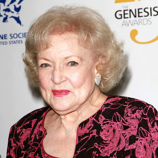 Betty White in 25th Anniversary Genesis Awards - Press Room - wenn3258158