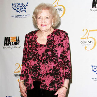 Betty White in 25th Anniversary Genesis Awards - Press Room