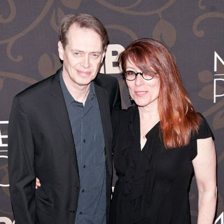 "Steve Buscemi, Jo Andres in The New York Premiere of ""Mildred Pierce"" - Arrivals"