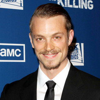 "Joel Kinnaman in Premiere of AMC's Series ""The Killing"" - wenn3260019"