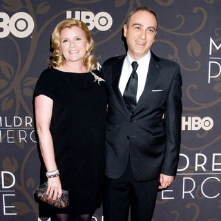 "Mare Winningham, Jason Trucco in The New York Premiere of ""Mildred Pierce"" - Arrivals"