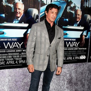 Sylvester Stallone in The Los Angeles HBO Premiere of 'His Way'