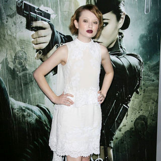 "Emily Browning in Warner Bros. Pictures Los Angeles Premiere of ""Sucker Punch"""