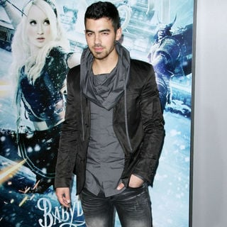 "Joe Jonas, Jonas Brothers in Warner Bros. Pictures Los Angeles Premiere of ""Sucker Punch"""