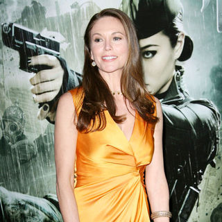 "Diane Lane in Warner Bros. Pictures Los Angeles Premiere of ""Sucker Punch"""