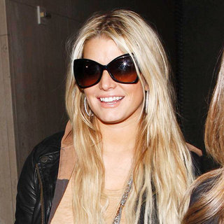 Jessica Simpson Arrives at LAX Airport