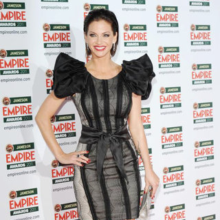 Sarah Harding in The Jameson Empire Awards 2011 - Arrivals